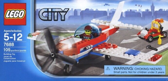 NEW Lego Town City 7688 SPORTS PLANE Sealed