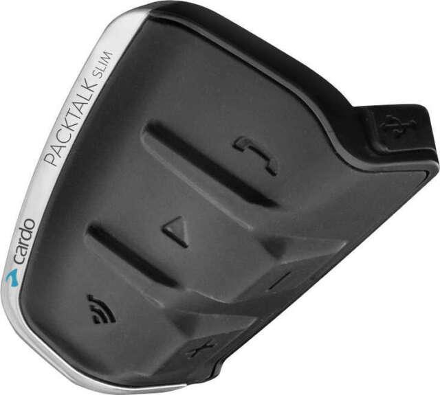 Cardo Scala Rider SRPT3002 PackTalk Slim Single Bluetooth Communication Headset