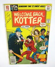 item 5 welcome back kotter 3 signed by tony isabella 1st print tv show dc comics 1977 welcome back kotter 3 signed by tony isabella 1st print tv show dc