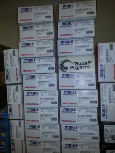 Mahle PowerPak Pistons for WRX 2.5L STi Legacy 99.50mm Bore Global Shipping