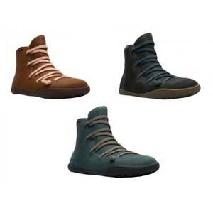 Camper-Peu-Cami-Textured-Leather-Womens-Boots-All-Sizes