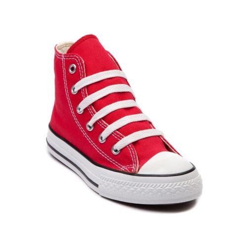 CONVERSE All Star Chuck Taylor Hi Top RED 3J232 KIDS Unisex Canvas Sneakers