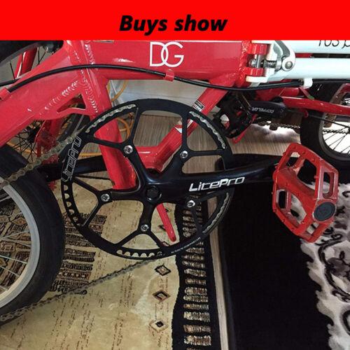 US 130BCD 45-58T Chainring MTB Bike Crankset Fit Shimano//SRAM//FSA 130bcd Crank