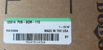"Dodge P2B-SCM-115     1 15//16/""   Stk # 126814 Pillow Block Bearing   New"