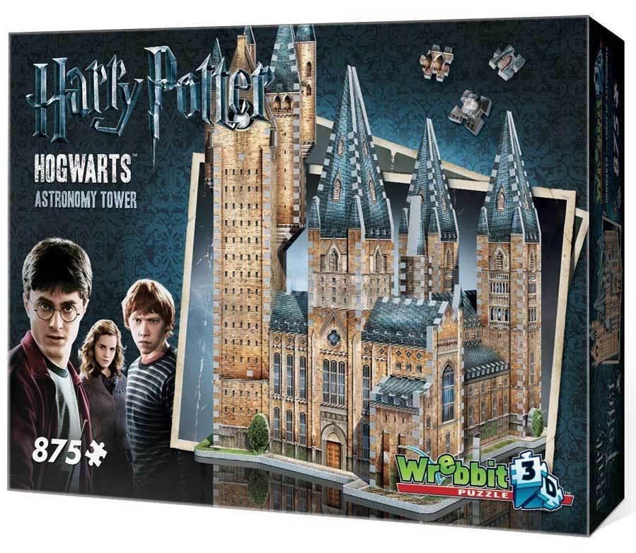 Wrebbit Harry Potter Hogwarts Torre di astronomia 3D Puzzle (875 pezzi)
