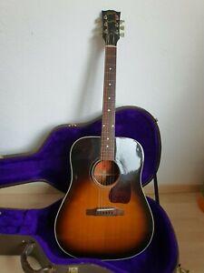 Gibson j-30 1992 la guitarra acústica con maleta-made in usa-Top estado