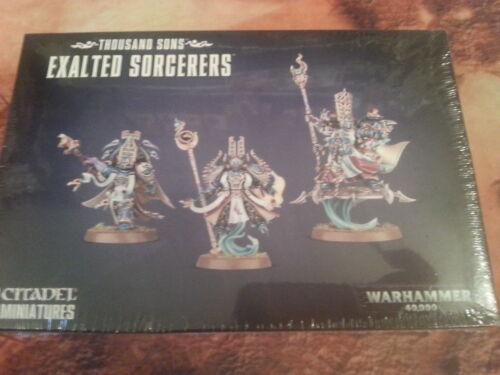 Warhammer 40K Thousand Sons exalté sorciers-New /& Sealed