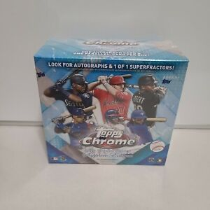 2020 Topps Chrome Update Series Sapphire Edition Sealed Box