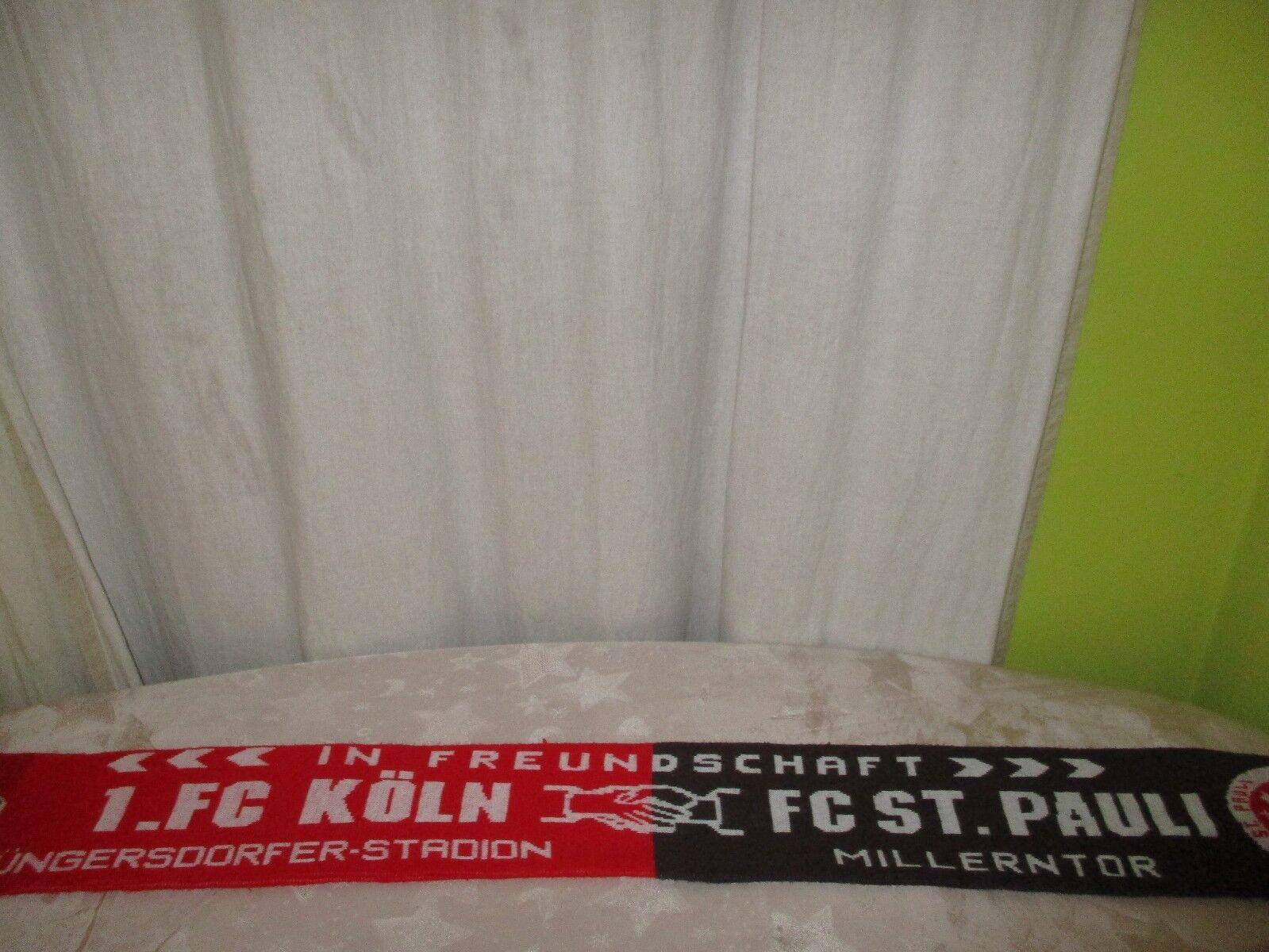 1.FC Köln/FC St.Pauli Original Fan Freundschaft Schal