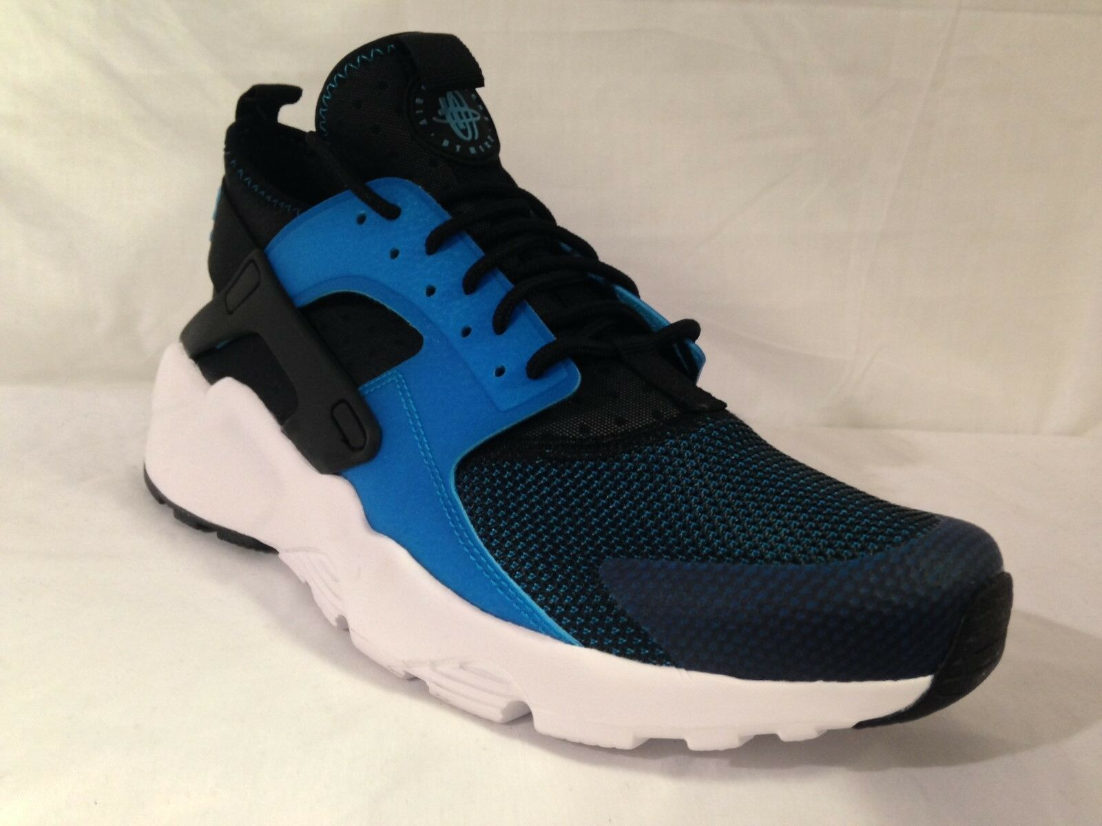 Mens Nike Air Huarache Run Ultra BR Black/Blue/Sky 819685 401 Sizes: _11
