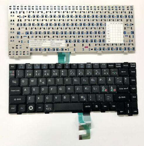 New Nordic keyboard for Panasonic Toughbook CF-28 CF-29 CF-30 CF-31 CF-52 CF-53