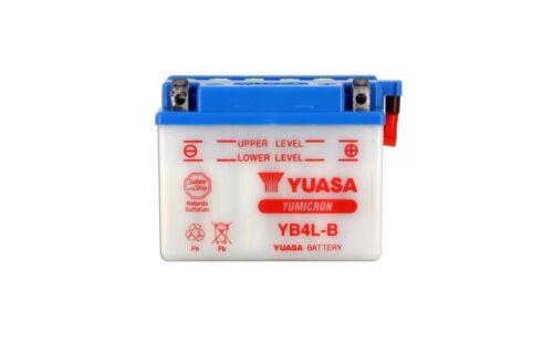 Batería Yamaha Yq 50 aerox 1997-2009 Yuasa  YB4L-B Sin ácido