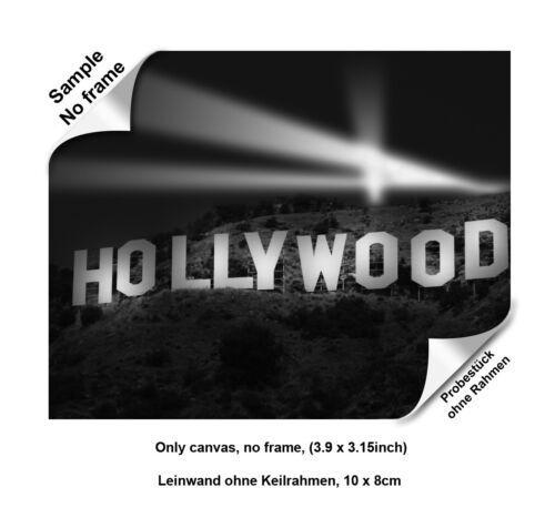 Leinwandbild Canvas Print Wandbild Hollywood  Nr 847