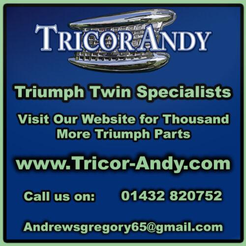 TRIUMPH HANDLEBAR 1 INCH PRE UNIT WITH HORN BUTTON THREAD 97-0659