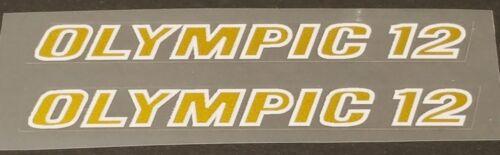 Nishiki Olympic 12 Top Tube Decals sku Nish211 1 Pair