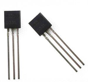 50-PCS-S8050-8050-NPN-Transistor-NEW-TO-92-NEW