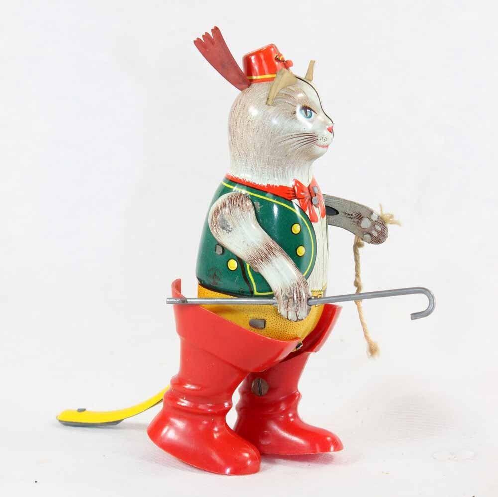 Les récompenses de bonne chance du Nouvel sont An sont Nouvel non-stop CHAT BOTTE  JOUSTRA    / jouet ancien c56b86