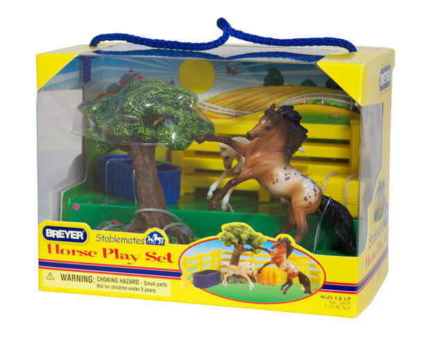 Breyer Stablemate Horse Play Set #5409  FREE SHIPPING