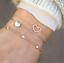 Fashion-Women-Gold-Silver-Punk-Cuff-Bracelet-Bangle-Chain-Wristband-Set-Jewelry thumbnail 72