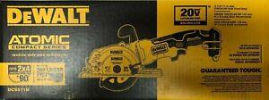 Dewalt DCS571B 20 volt Atomic Compact 4 1/2 Cordless Circular Saw New in Box