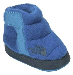 7dd704610a8a Infant The North Face Fleece Winter Bootie Shoes Blue Baby Size (1 ...