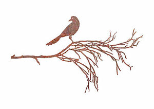 Bird-Branch-3-Garden-Wall-Art-Australian-Made