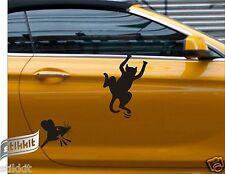 Angry Ratón Funky Gato Divertido Calcomanías Pegatinas de vinilo coche vehículo Puerta Nevera Inodoro