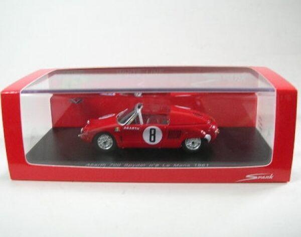 Abarth 700 Spyder N°8 Lemans 1961