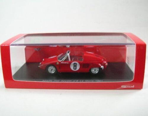 Abarth 700 Spyder No 8 LeMans 1961