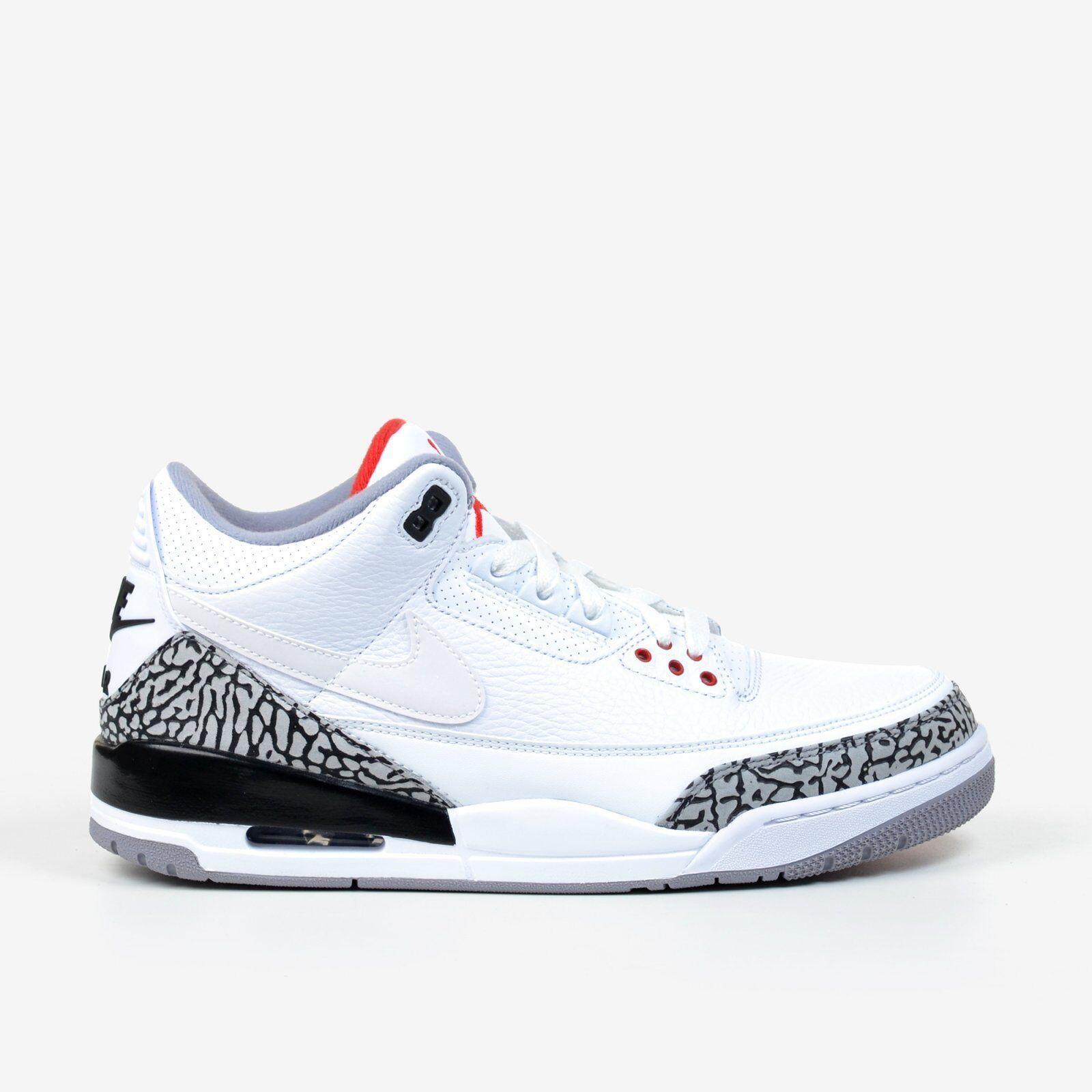 Air Jordan Retro 3 NRG JTH Tinker White