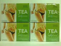 4 Lipo Express Natural Slimming Teas 30 Bags Ea Weight Control - Te Dietetico