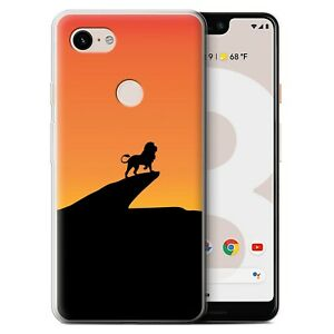 Gel-TPU-Case-for-Google-Pixel-3-XL-Minimalist-Movie-Art-Lion-Inspired