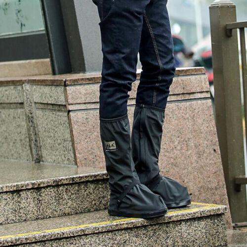 Unisex Non Slip Shoe Boot Covers Motorcycle Hiking Rain Waterproof Protector