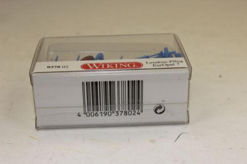 Wiking 378 02 Lemken Charrue différantes 7x 1:87 h0 neuf emballage d/'origine