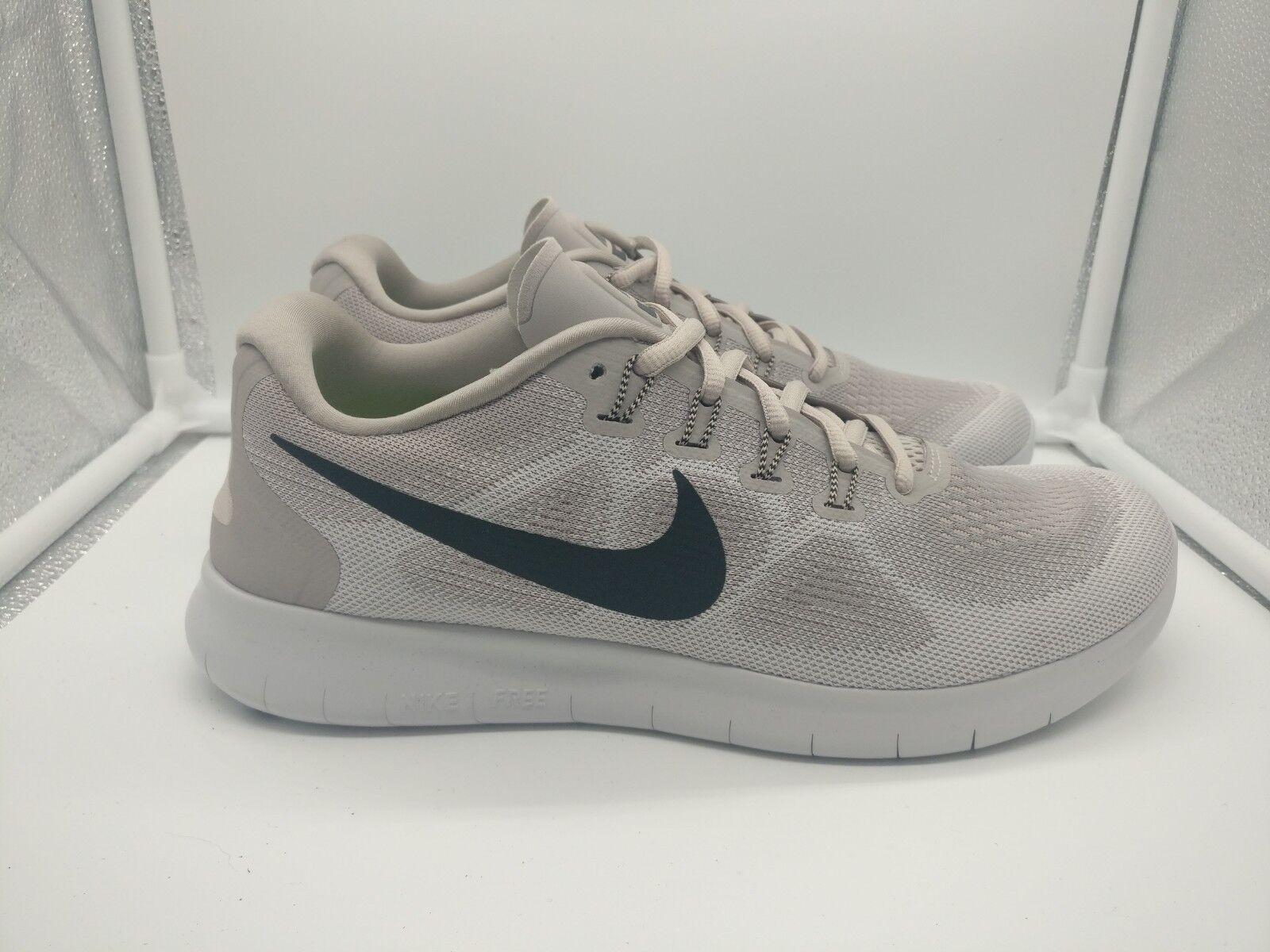 Nike de mujer free run run run rn 2017 Reino Unido 7.5 Luna de partículas grandes gris Negro 880840-200  tienda de venta