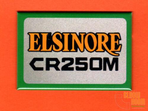 "Honda CR250M Elsinore logo 2x3/"" fridge//locker magnet MX"