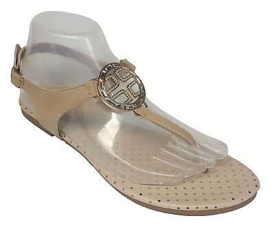 NEW Womens Summer Rhinestone Cute Gladiator thong Flat Sandals 019, USA Seller