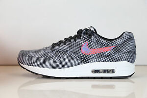 Details about Nike Air Max 1 FB QS Hypervenom Black Bright Crimson 744491 001 8.5 11.5 premium