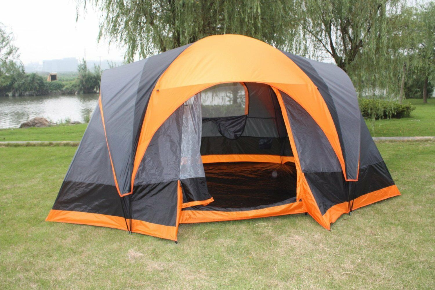 Elite Double layer Outdoor 8  Person Camping Cabin Family Tent  ultra-low prices