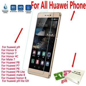 Tempered-Glass-Screen-LCD-Protector-Cover-for-Huawei-P10-P9-P9lite-P8lite-P8