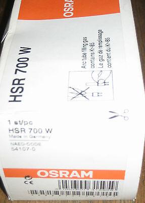 Ersatzglühbirnen & -lampen 1*osram Hsr 700 G22 Neu&ovp Rechnung Hsr Msr Hti