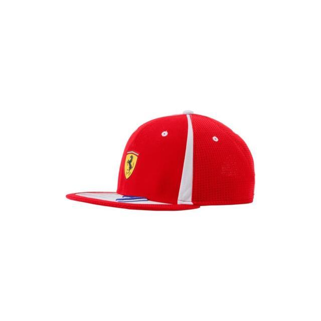 Officiel 2018 F1 Scuderia Ferrari Kimi Raikkonen Plat Brim Chapeau Homme-Nouveau