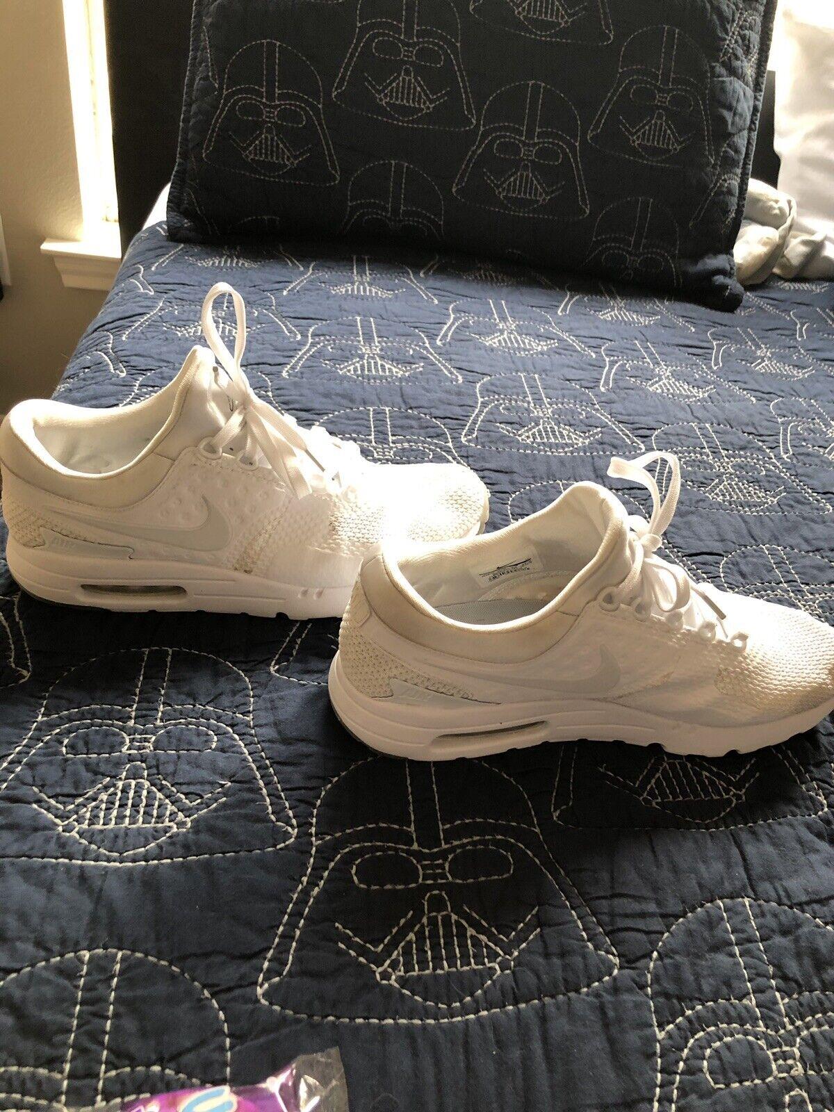 Nike Air Max Zero QS White size 9.5 Men