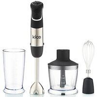 850 Watt Hand Blender Kico Powerful 7-speed Immersion Blender Stick With Chop...