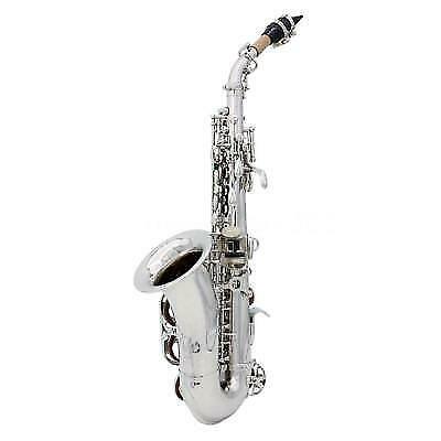 lade brass golden carve pattern bb soprano saxophone sax with case v0z8 for sale online ebay. Black Bedroom Furniture Sets. Home Design Ideas