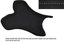 De alto agarre Amarillo Stitch Custom Fits Yamaha 1000 Yzf R1 04-06 delantera cubierta de asiento