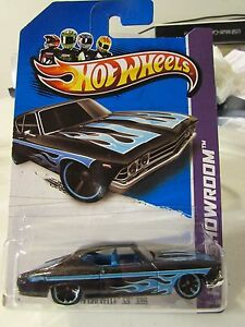 Hot wheels 39 69 chevelle ss 396 hw showroom black ebay - 69 chevelle ss 396 images ...