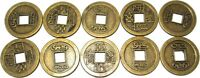 10 Chinesische Glücksmünzen