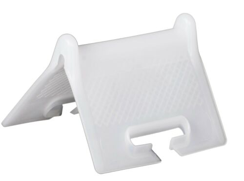 Kantenschutz Kantenschoner Kantenschutzecke weiß für Gurtband 50 mm LKW 50 Stk