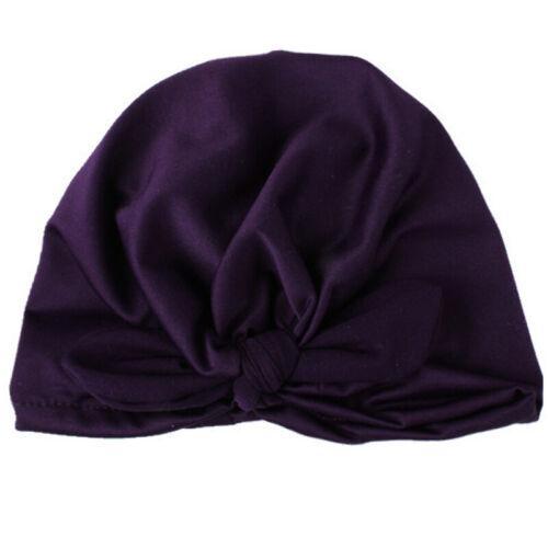 Baby Toddler Turban Headband Girl Kid Boy Hairband Headwrap India Beanie Cap Hat